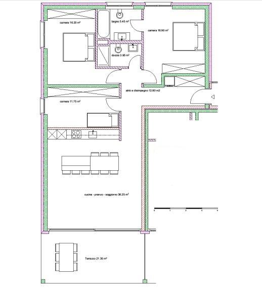 Appartamenti 4.5 locali nr. 1,5,913,17,21,25