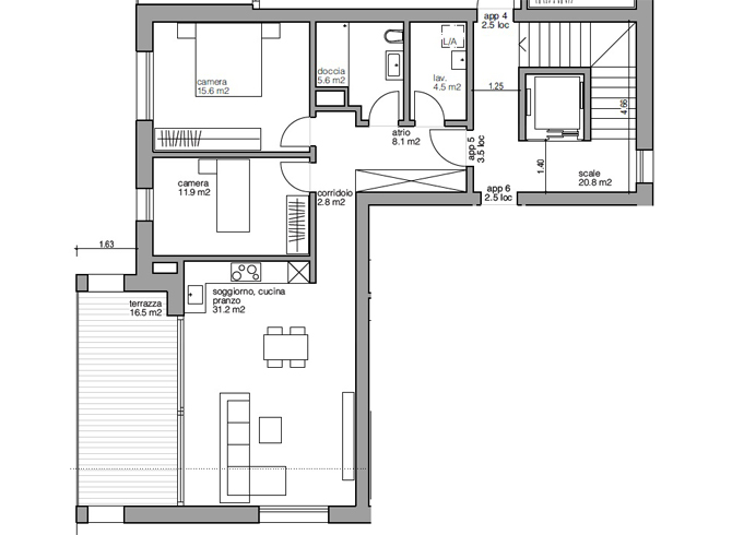 Appartamento nr. 5