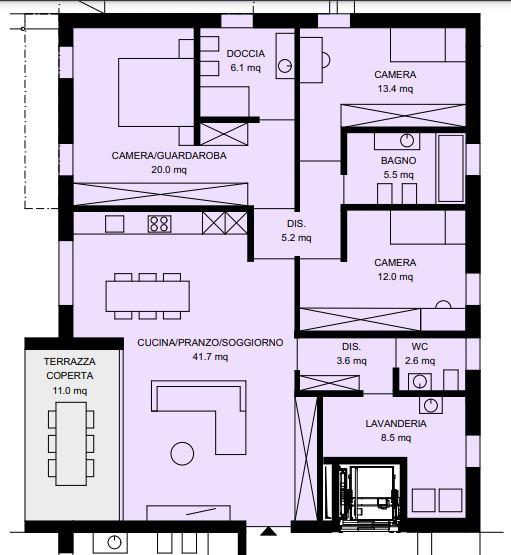 Appartamento 1 al PT