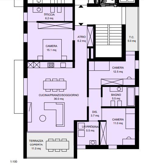 Appartamento 4 al 1° piano