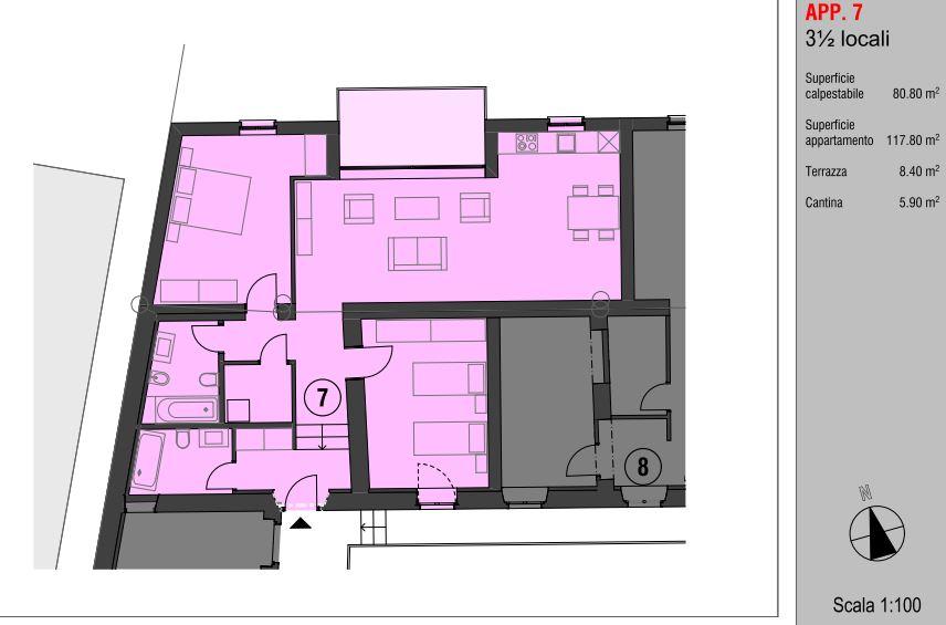 Planimetria App. nr.7